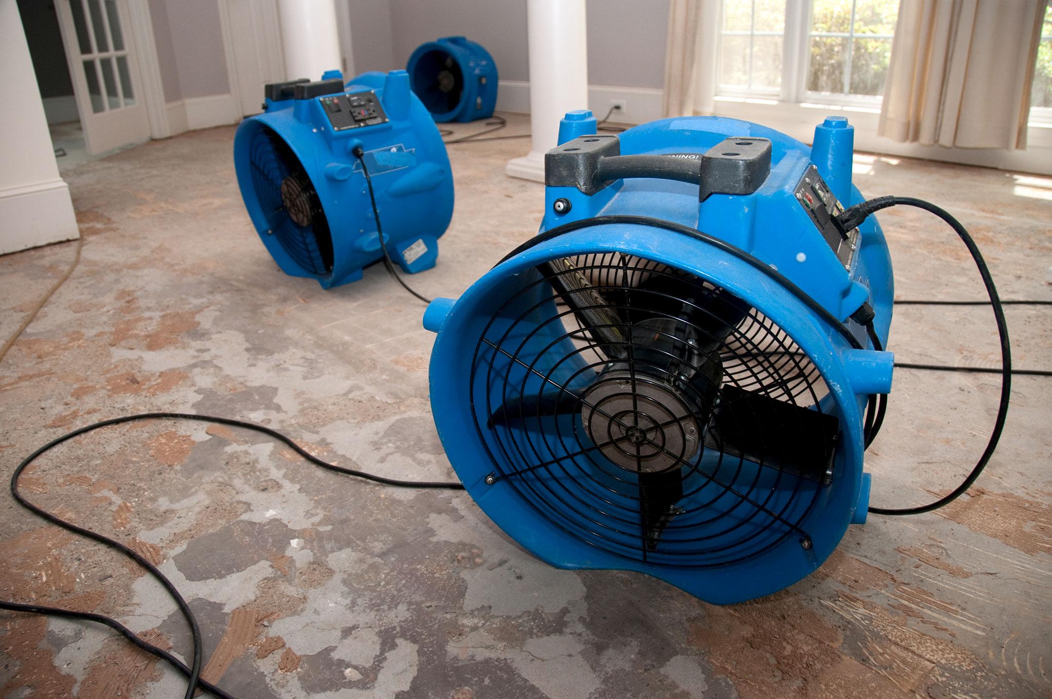 Trocknungsgeräte und Ventilatoren